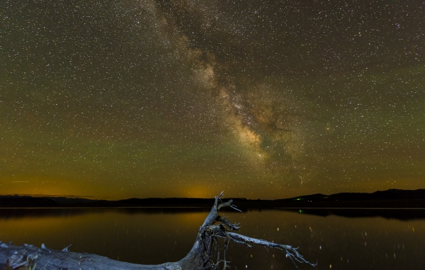 Milky Way Galaxy   Over Steamboat Lake, CO