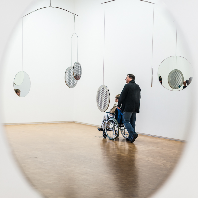Centre Pompidou, Paris - mirrors.JPG