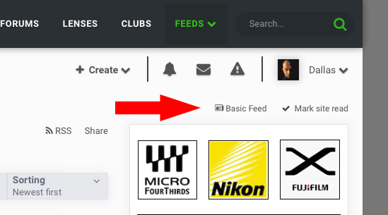 How To Create A Custom Feed On Fotozones