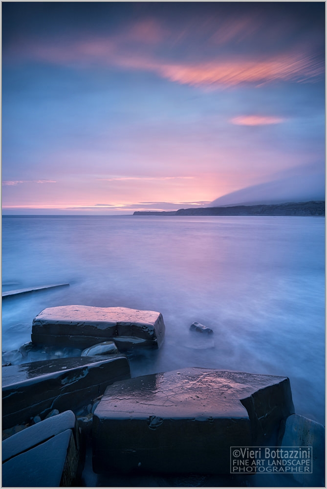 A Kimmeridge Sunset, Dorset