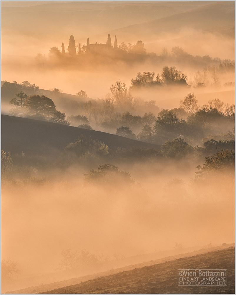 A Tuscan sunrise
