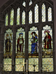 Medieval Stained Glass at Llanasa Parish Church