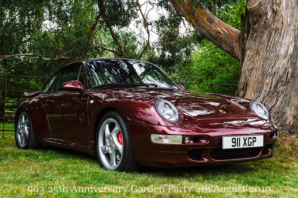 Porsche 993 25th Anniversary Garden Party