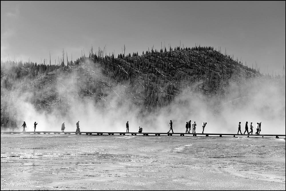 Yellowstone vapors