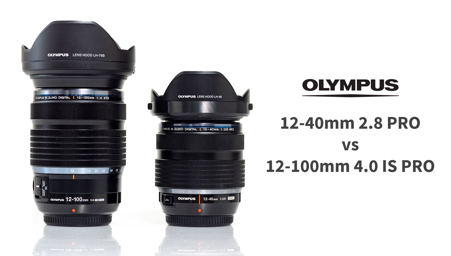 Olympus 12-40/2.8 vs 12-100/4.0 - Which One Is Right For You?