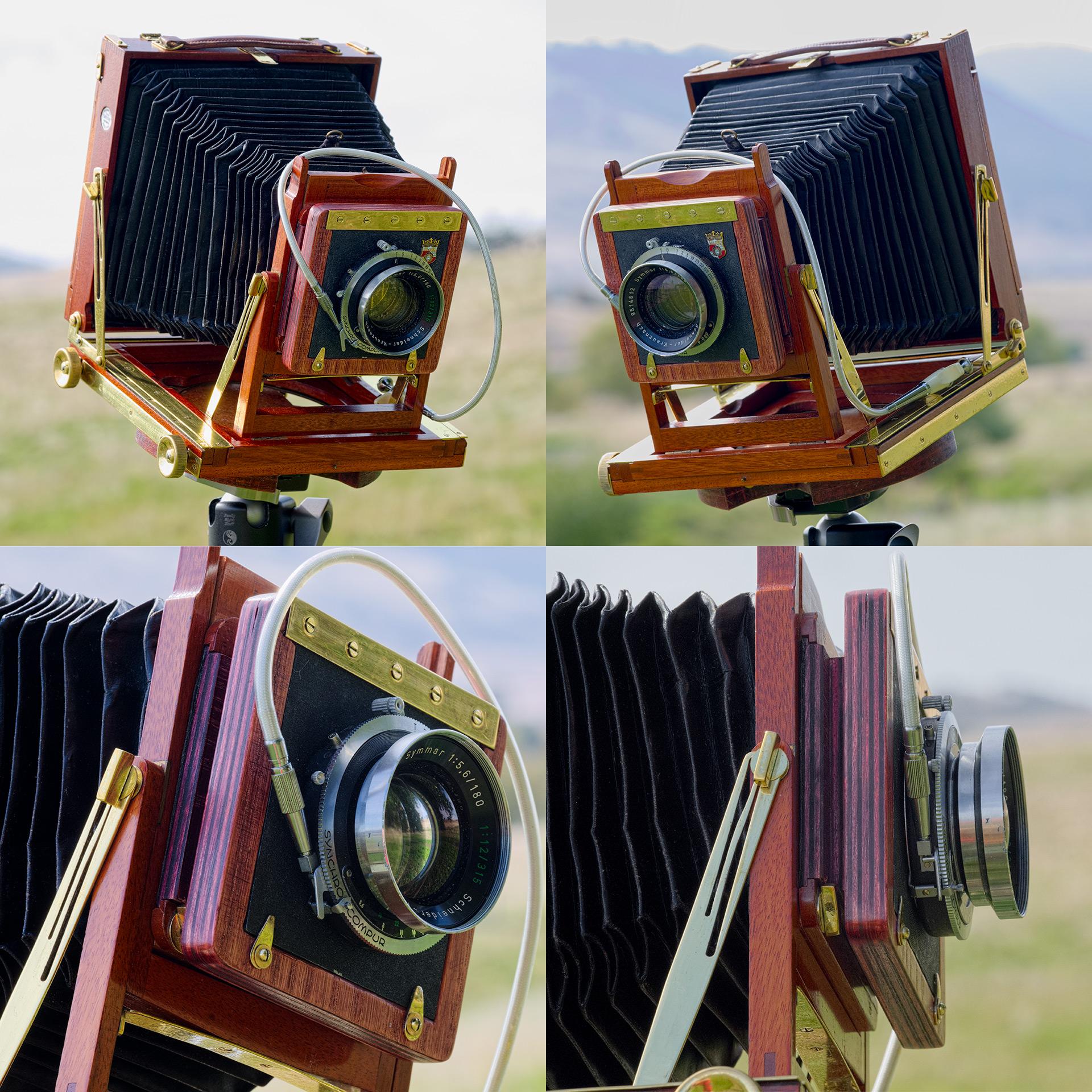 Antique cameras are oh-so versatile...