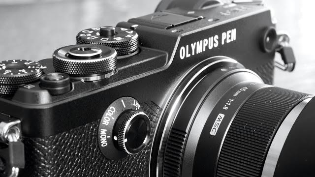 "The ""Mono"" Olympus Pen-F"