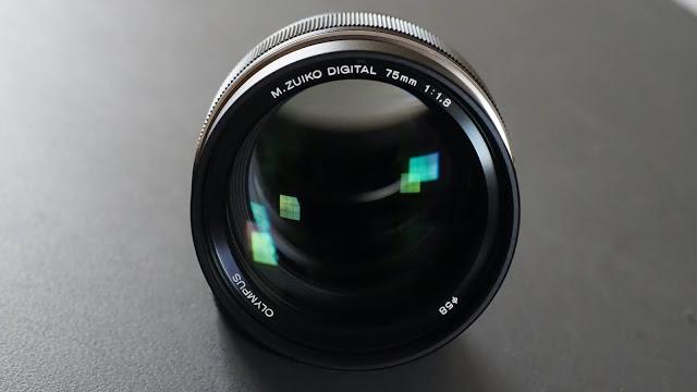 """The """"luminous"""" Olympus M.Zuiko ED 75mm F1.8 Premium telephoto lens"""
