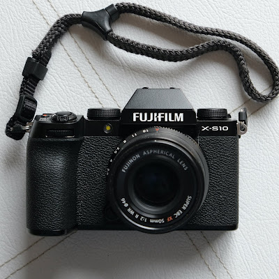 About the new Fujifilm X-S10